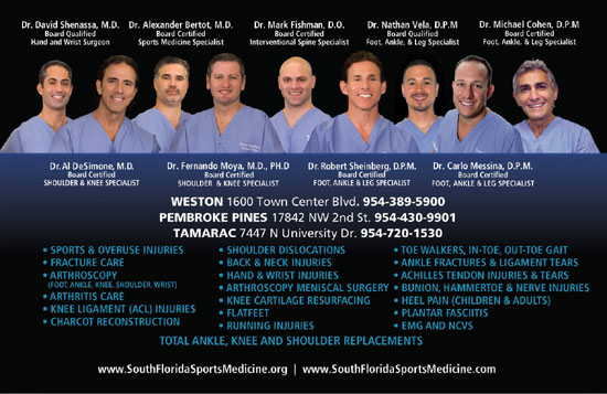 South Florida Institute Of Sports Medicine